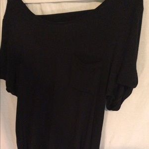 Black Top With Strappy Back